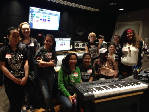 A shot of WAM's Oasis for Girls in 2015