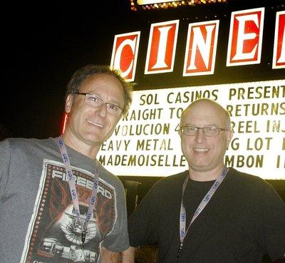 Directors John Heyn (left) and Jeff Krulik.
