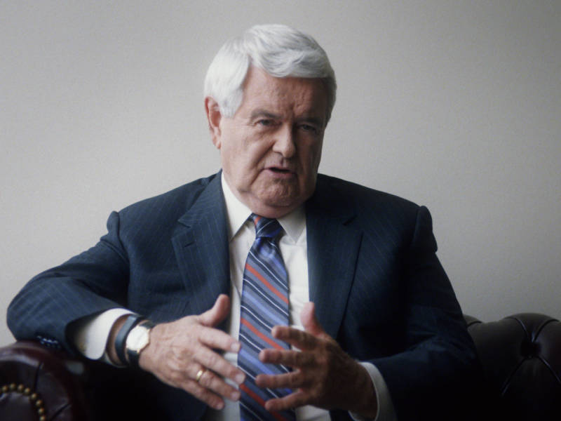 Newt Gingrich in '13th.'