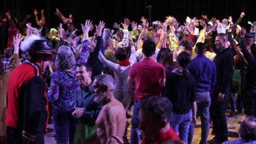 San Francisco Lesbian/Gay Freedom Band's 2015 edition of Dance-Along Nutcracker