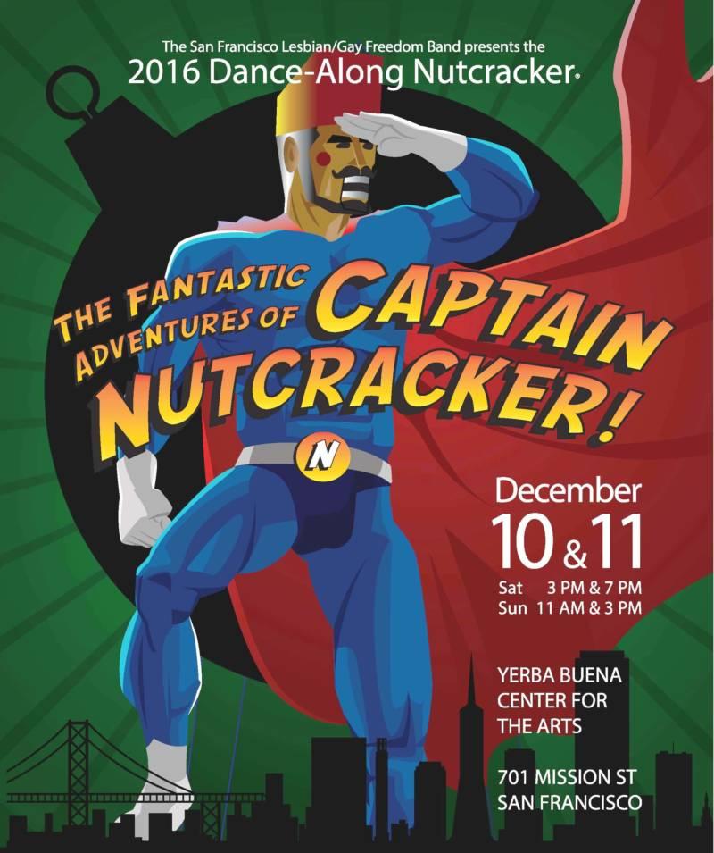 Capt. Nutcracker Poster