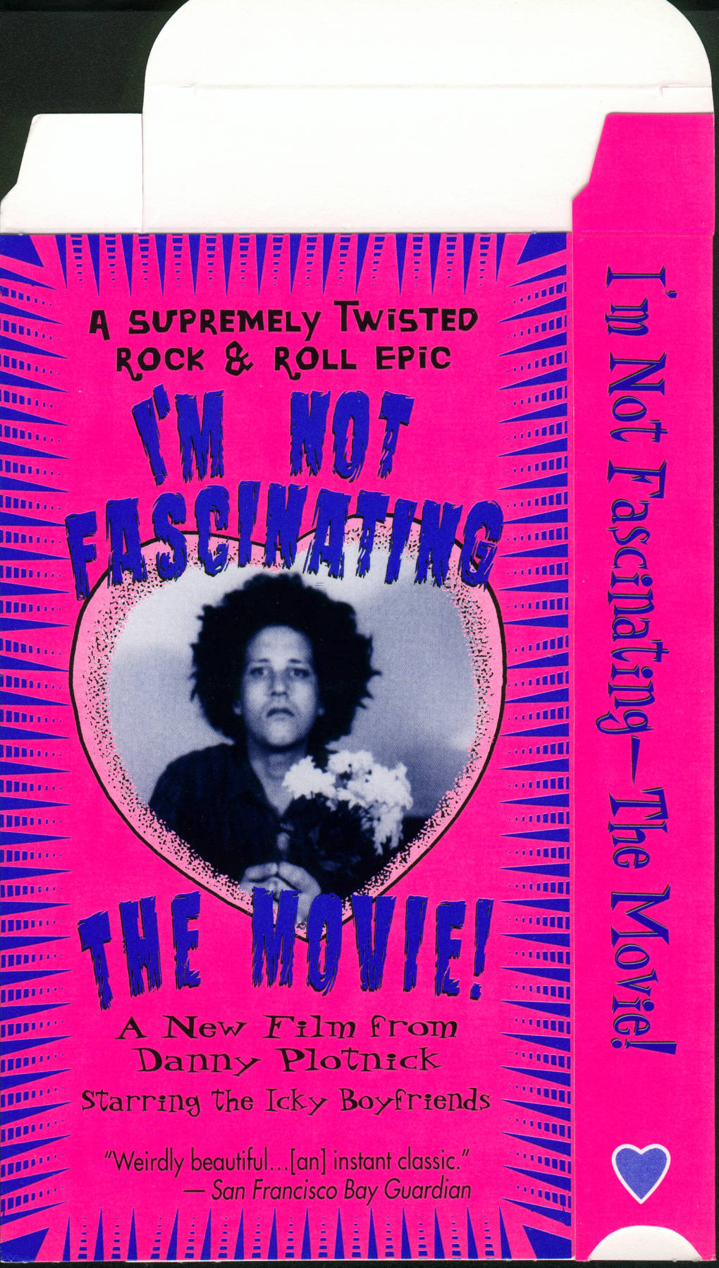 The VHS box for 'I'm Not Fascinating'