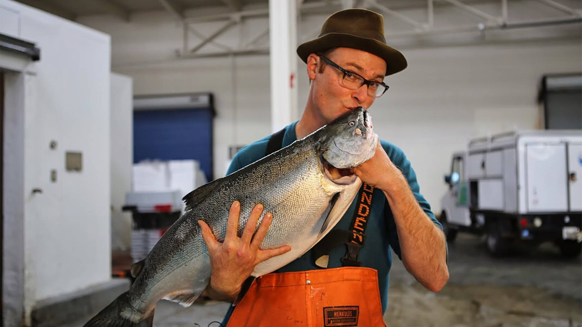 Kirk Lombard of Sea Forager Seafood Photo: Kat Covell