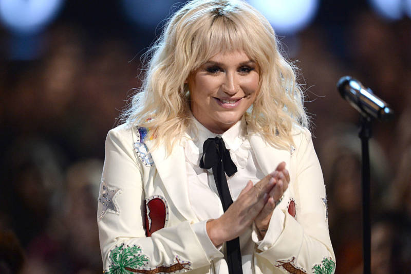 Kesha performs at the 2016 Billboard Music Awards in May 2016.