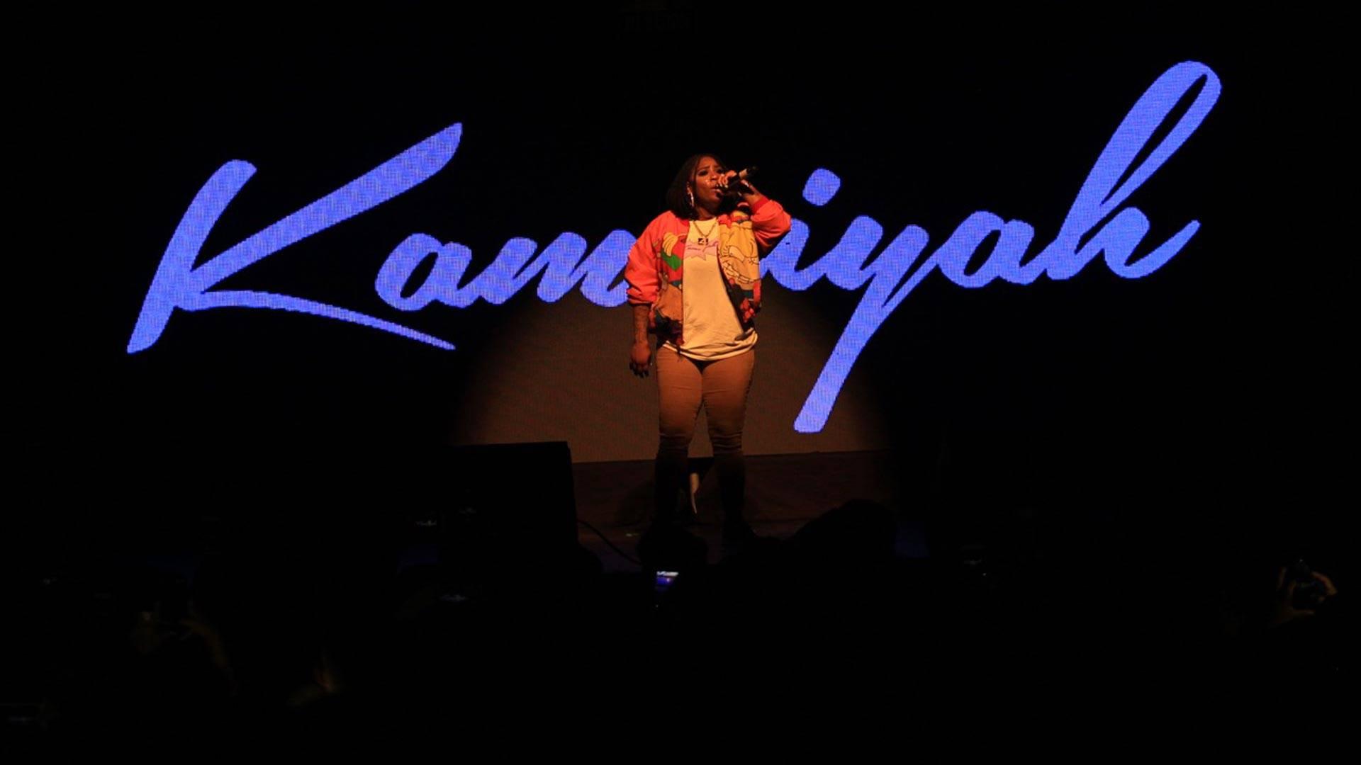 "Kamaiyah performs at the Fox Theater in Oakland, Nov. 25, 2016.  Nailah Howze (<a href=""http://www.cloudnaiii.com/"">Cloudnaiii.com</a>)"