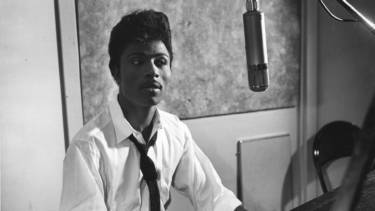 Little Richard in studio