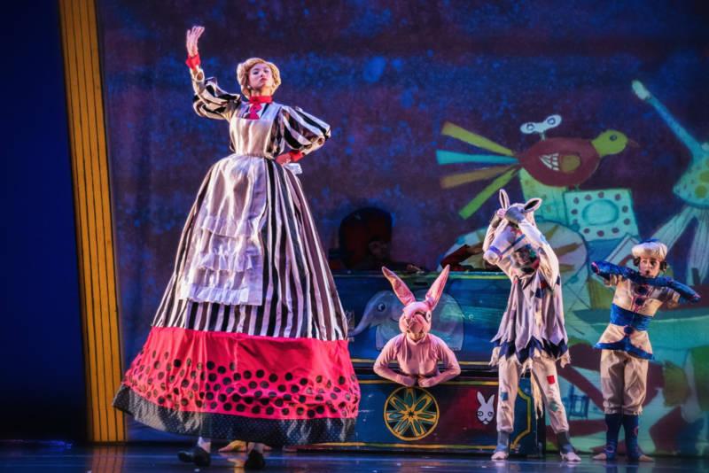 ODC/Dance in KT Nelson's Velveteen Rabbit (Photo: Andrew Weeks)