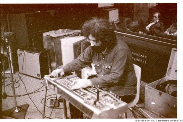 Jerry Garcia at Wally Heider Recording.