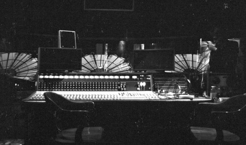 The Record Plant's control room, 1973