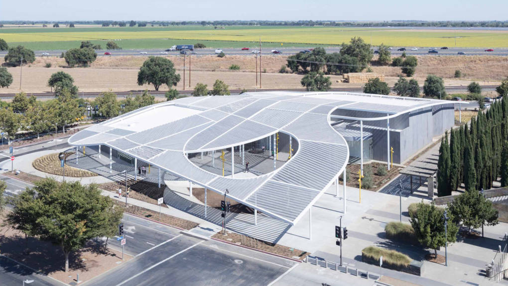 The new Jan Shrem and Maria Manetti Shrem Museum of Art at UC Davis.