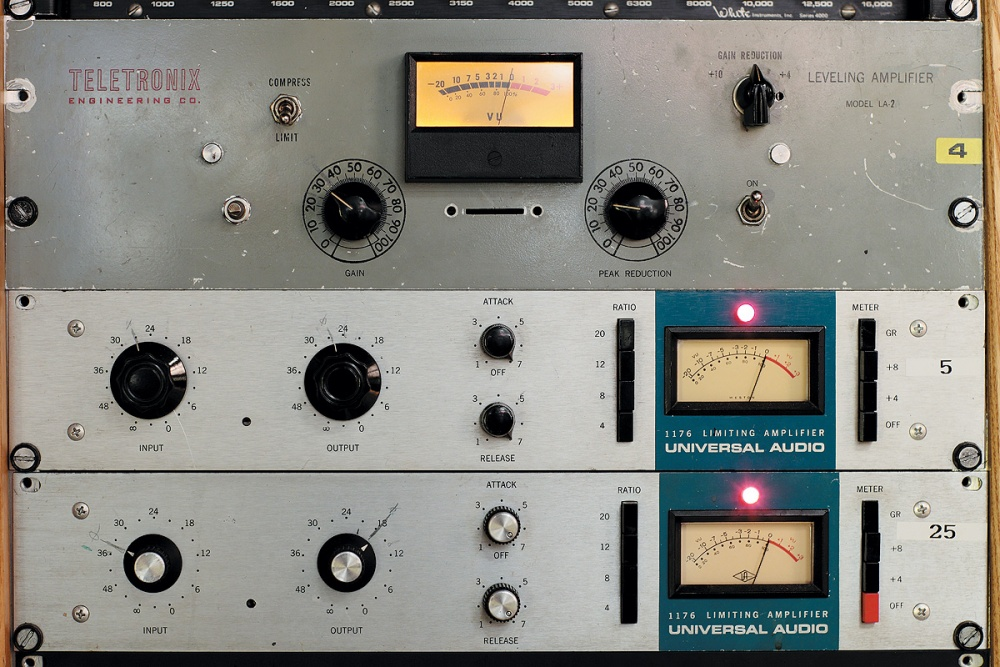 A vintage limiter: Hyde Street's 'blue stripe' 1176s and Teletronix LA2