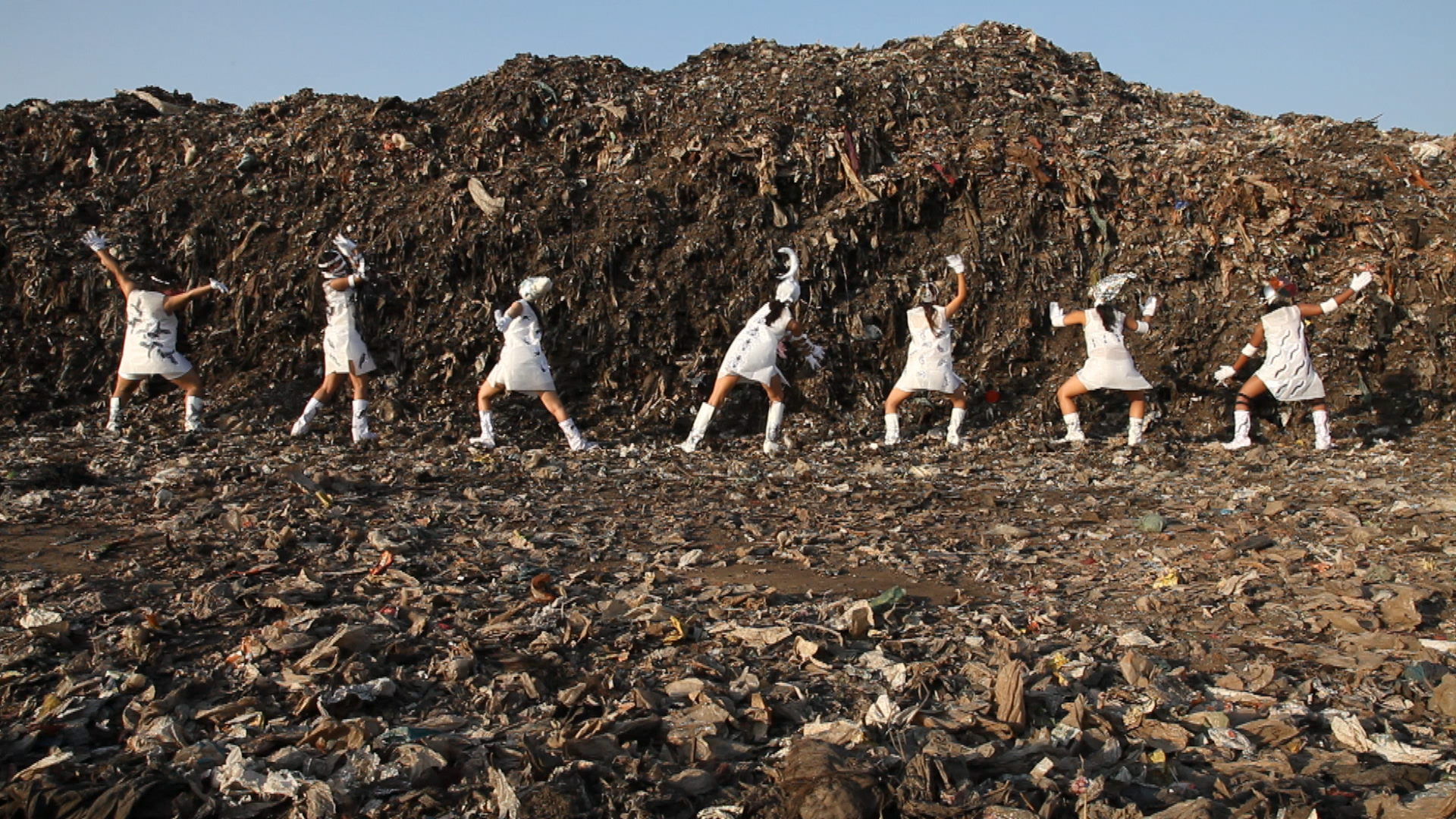 Tejal Shah, 'Between the Waves, Channel II - Landfill Dance' (still), 2012.