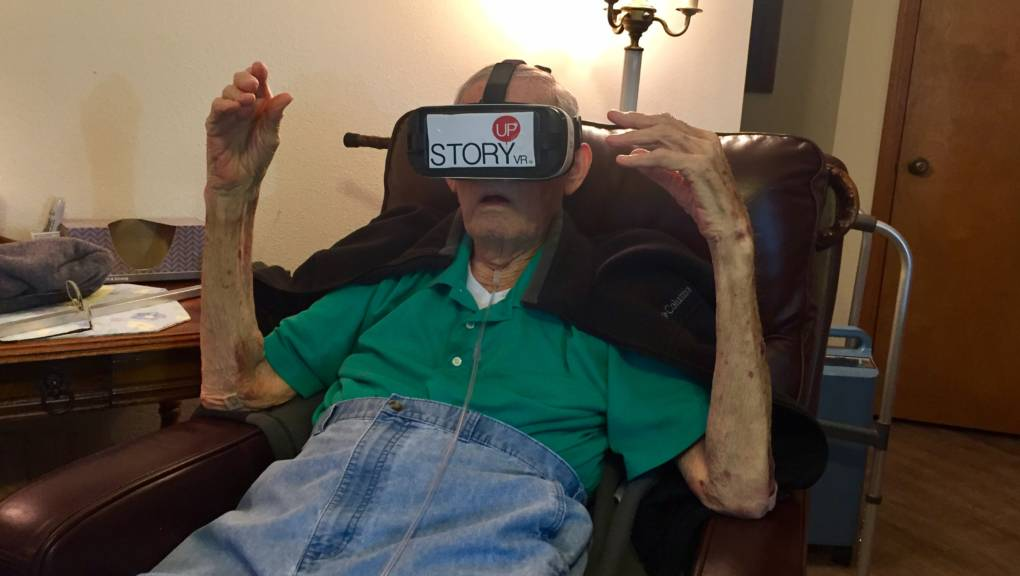 Veterans Visit War Memorials in Virtual Reality