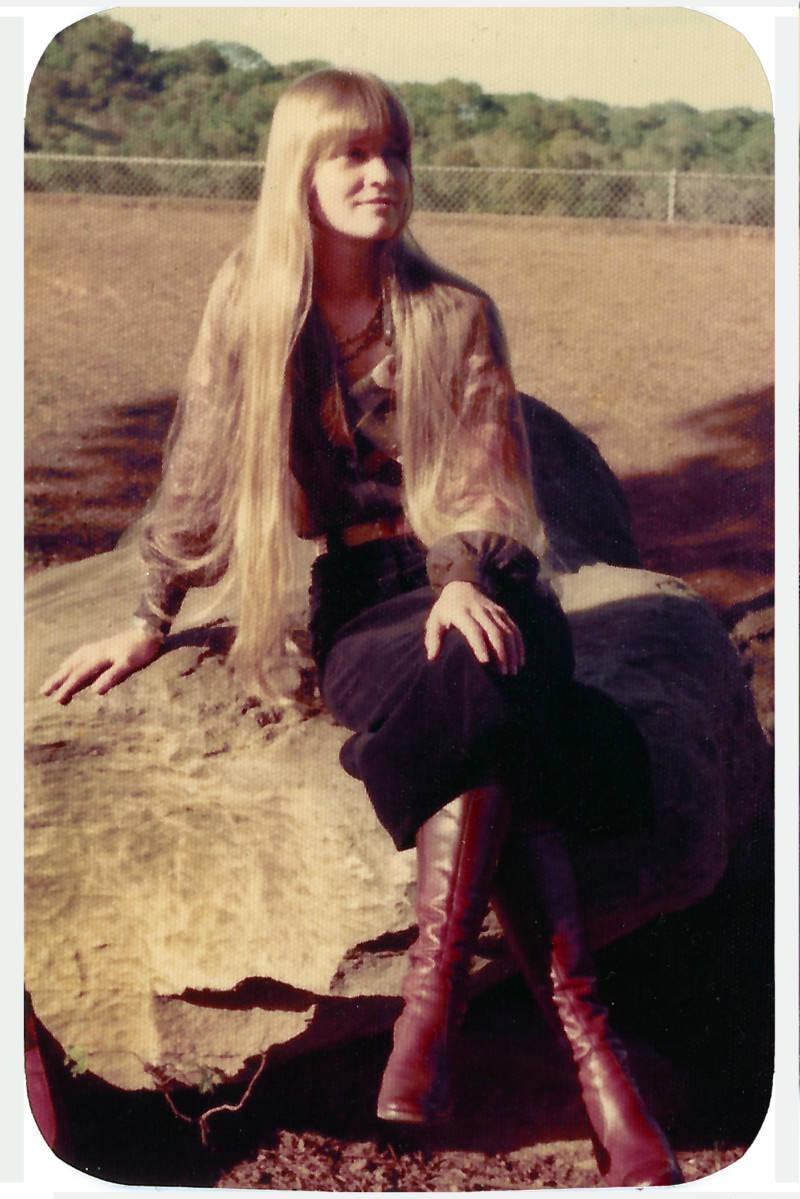 Wendy Bevan, a Brotherhood member, in the '70s.
