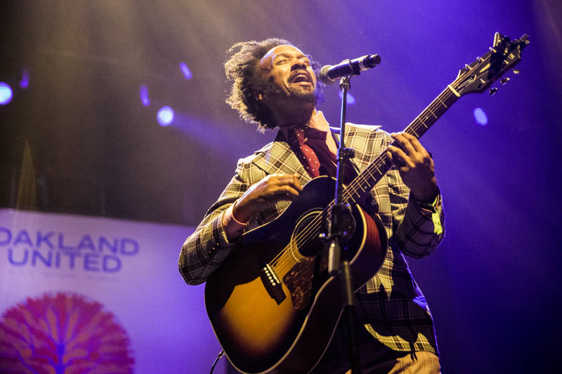 Fantastic Negrito at Oakland United at the Fox Theater on Dec. 14, 2016.