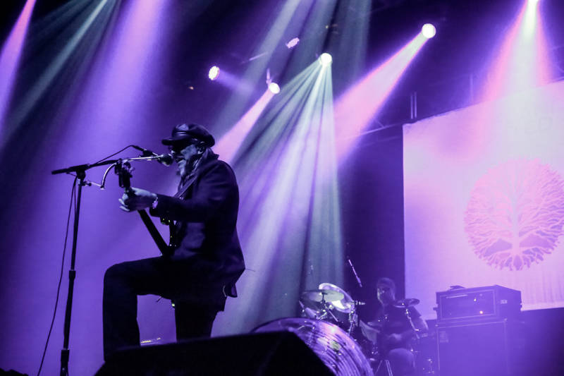 Les Claypool of Primus closes out the evening at the Oakland United benefit at the Fox Theater on Dec. 14, 2016.