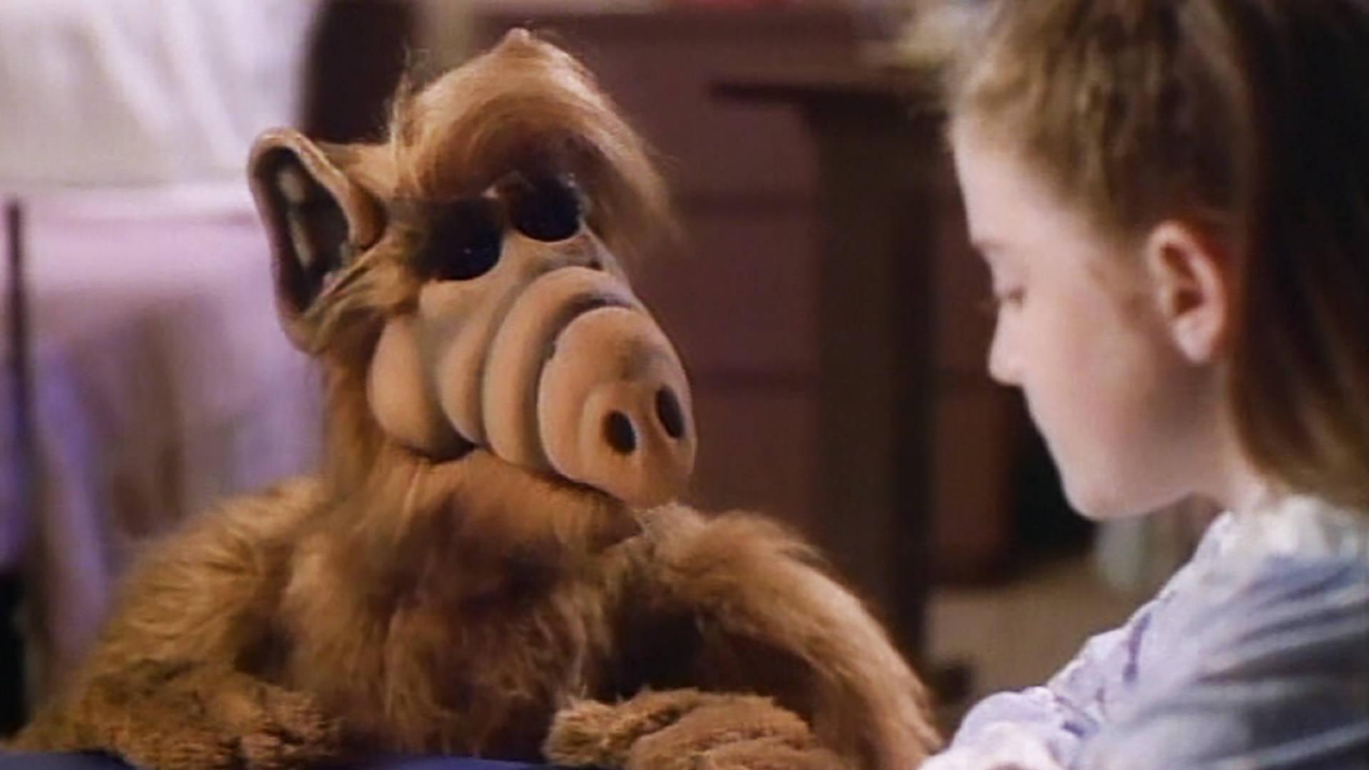Scene from the depressing 'Alf's Special Christmas' program