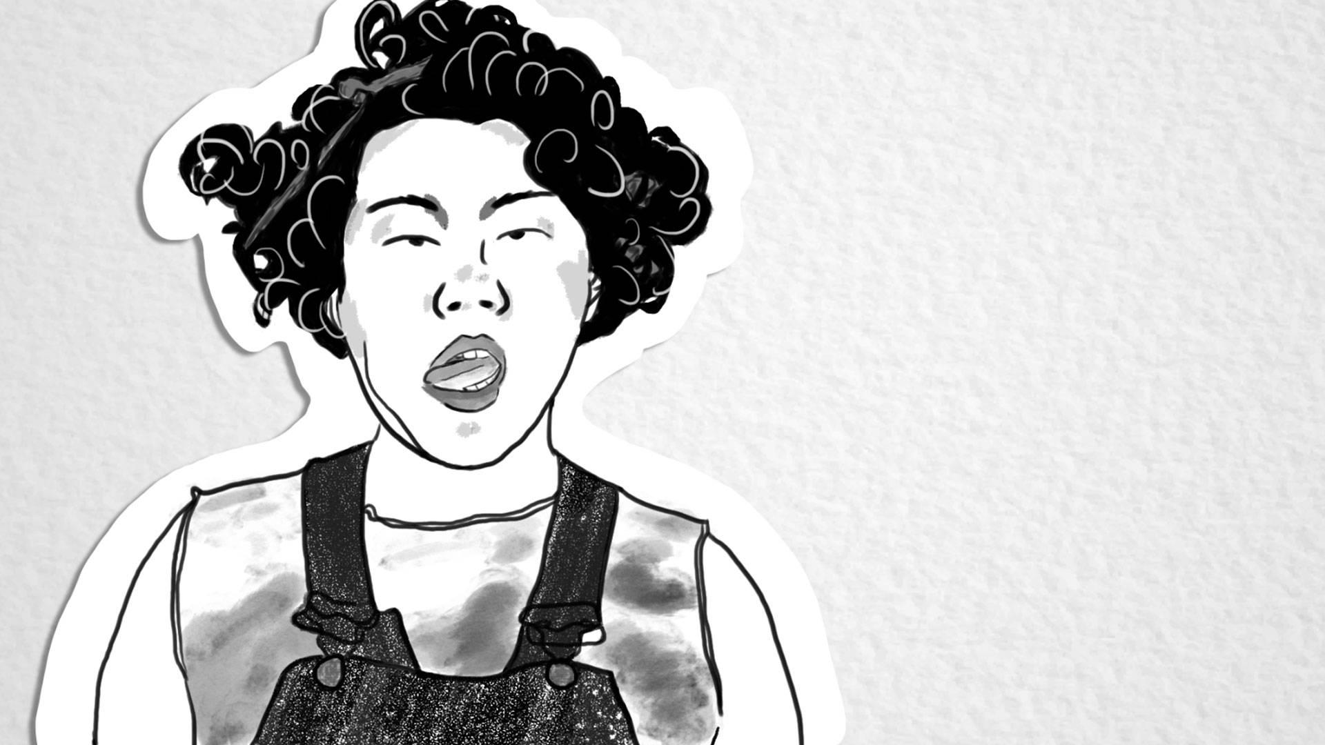 Ara Jo. Illustration by Melanie Ruiz/KQED