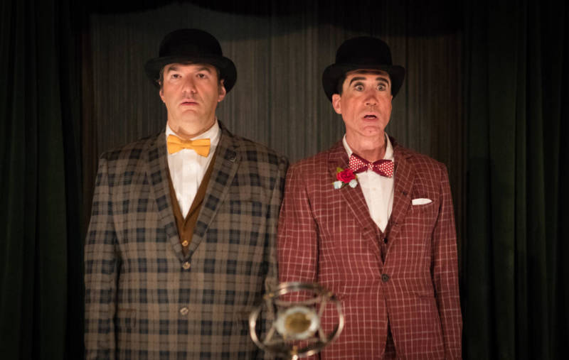 Brian Rosen and Clay David play a comedy double-act in The Speakeasy.