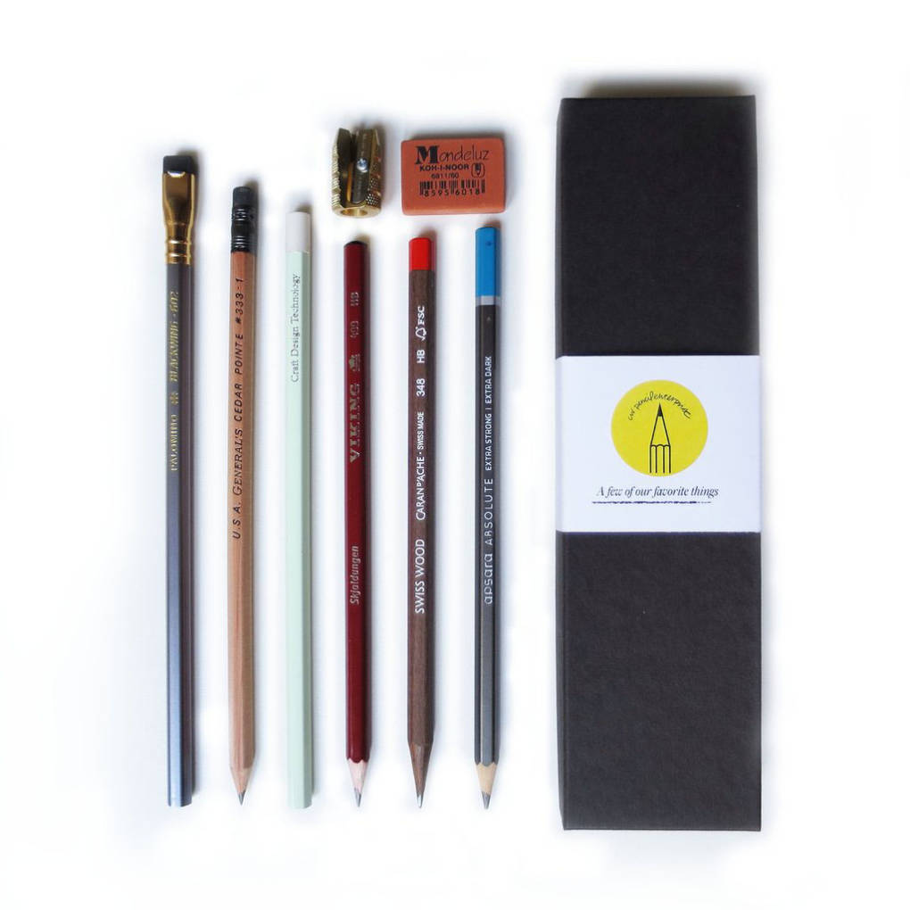 CW Pencil Enterprises sampler