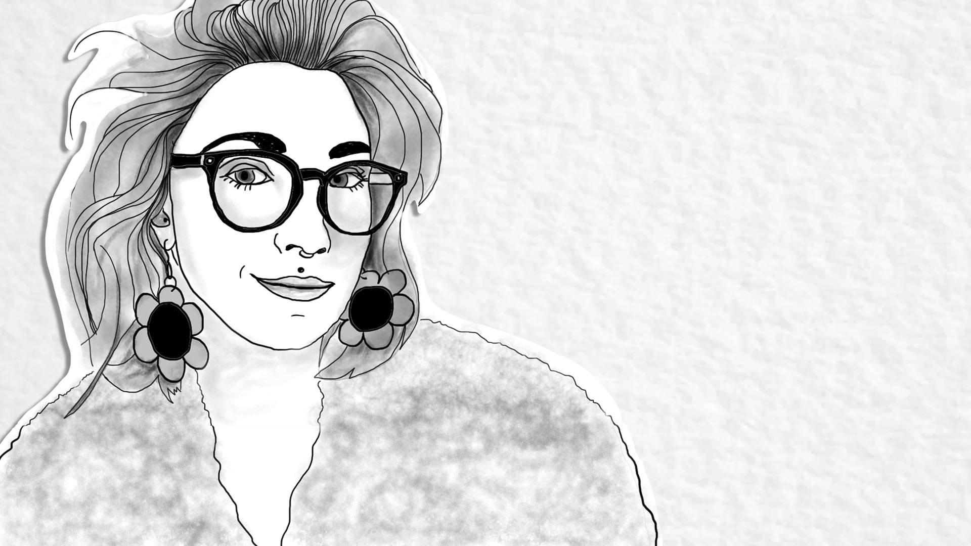 Denalda Nicole Renae. Illustration by Caludia Escobar and Farrin Abbott/KQED