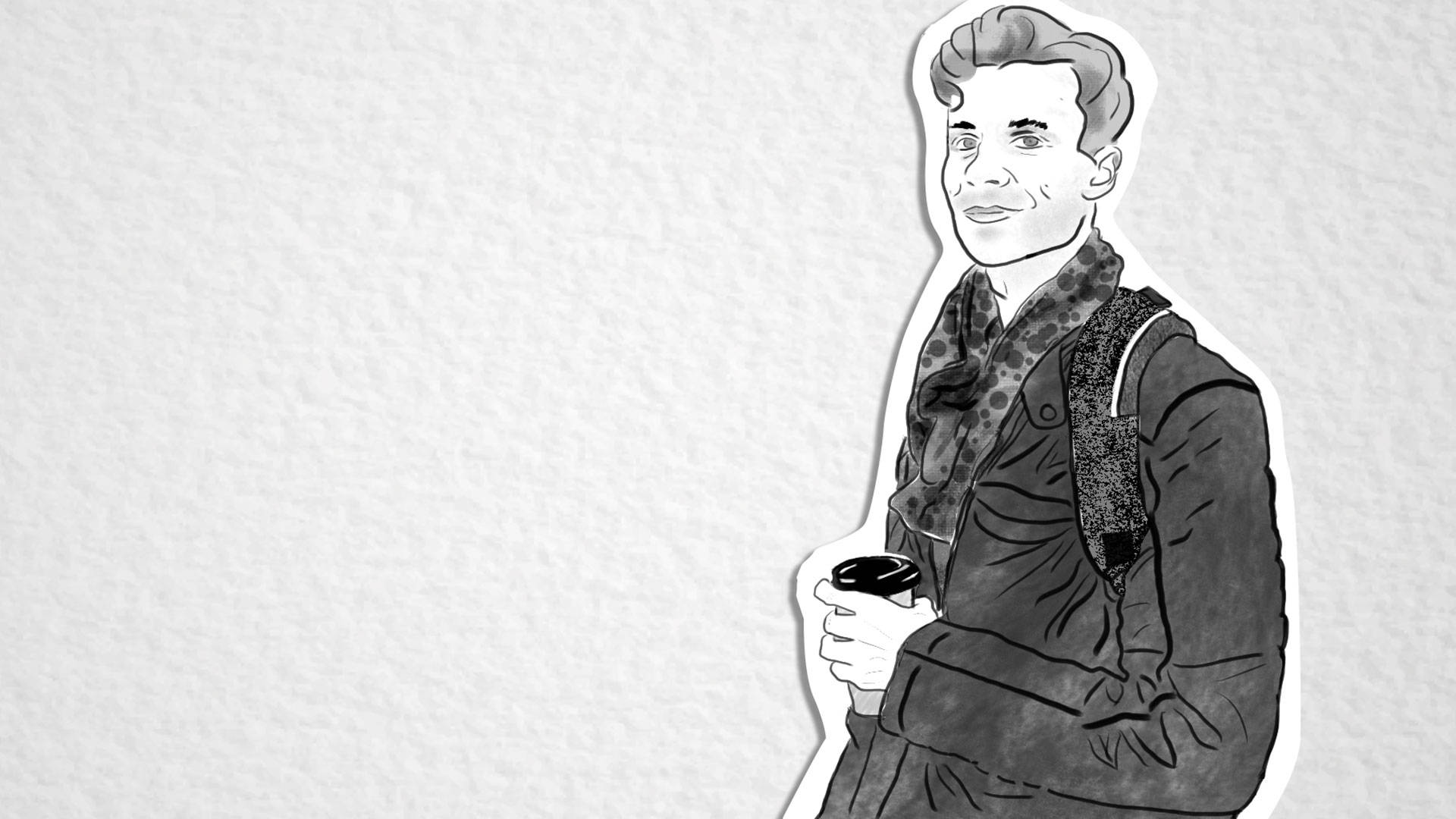 "Jason ""JSUN"" McCarty. Illustration by Melanie Ruiz/KQED"