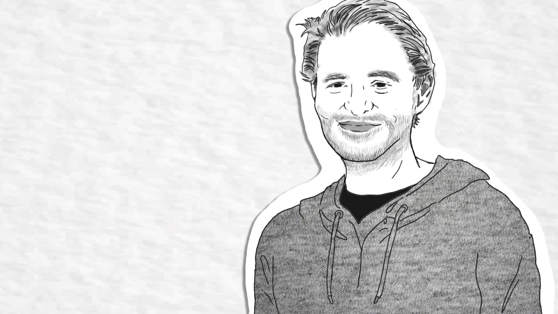 Jonathan Bernbaum. Illustration by Creo Noveno/KQED