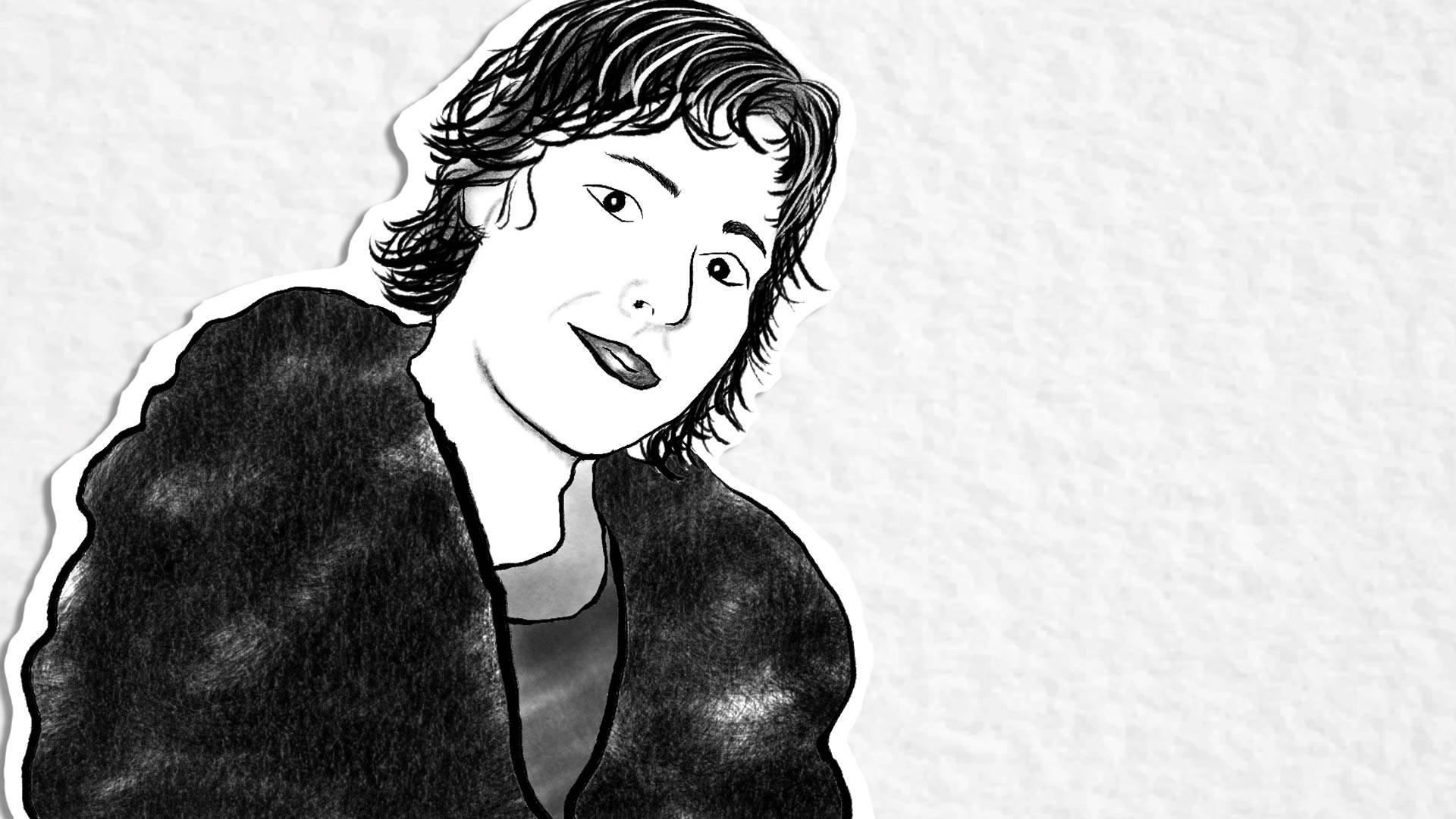 Michele Sylvan. Illustration by Farrin Abbott/KQED