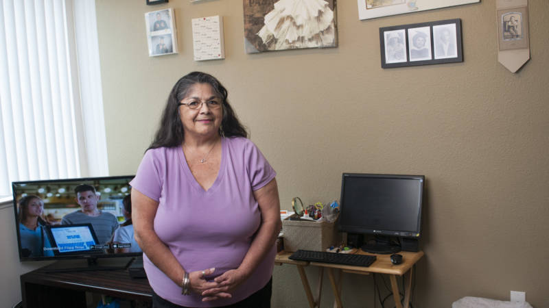 Estrella Sanchez has built a new life for herself at Archer Studios. The affordable housing complex rents her a micro-unit for $830 a month, but it also embraces her in a development designed to encourage healthy living and community building.