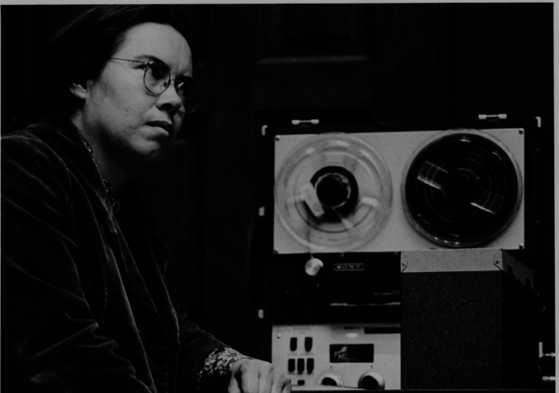 Pauline Oliveros was a Mills College Professor and a founding member and director of the San Francisco Tape Music Center