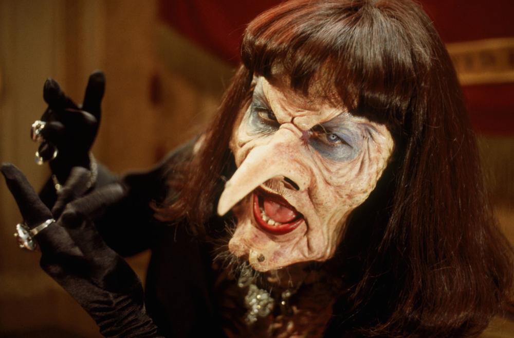 Anjelica Huston in Nicolas Roeg's 'The Witches,' 1990.
