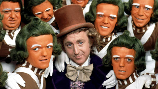 Gene Wilder in 'Willy Wonka and the Chocolate Factory,' 1971.