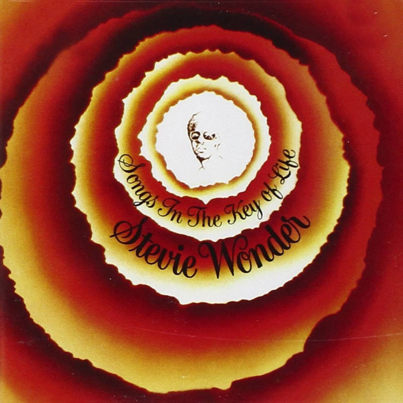 Artwork for Stevie Wonder's 'Songs in the Key of Life'