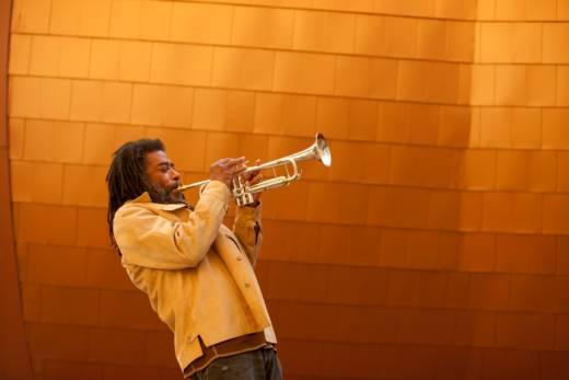 Trumpeter Ishmael Wadada Leo Smith.
