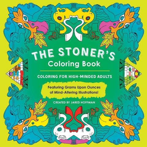 'The Stoner's Coloring Book'