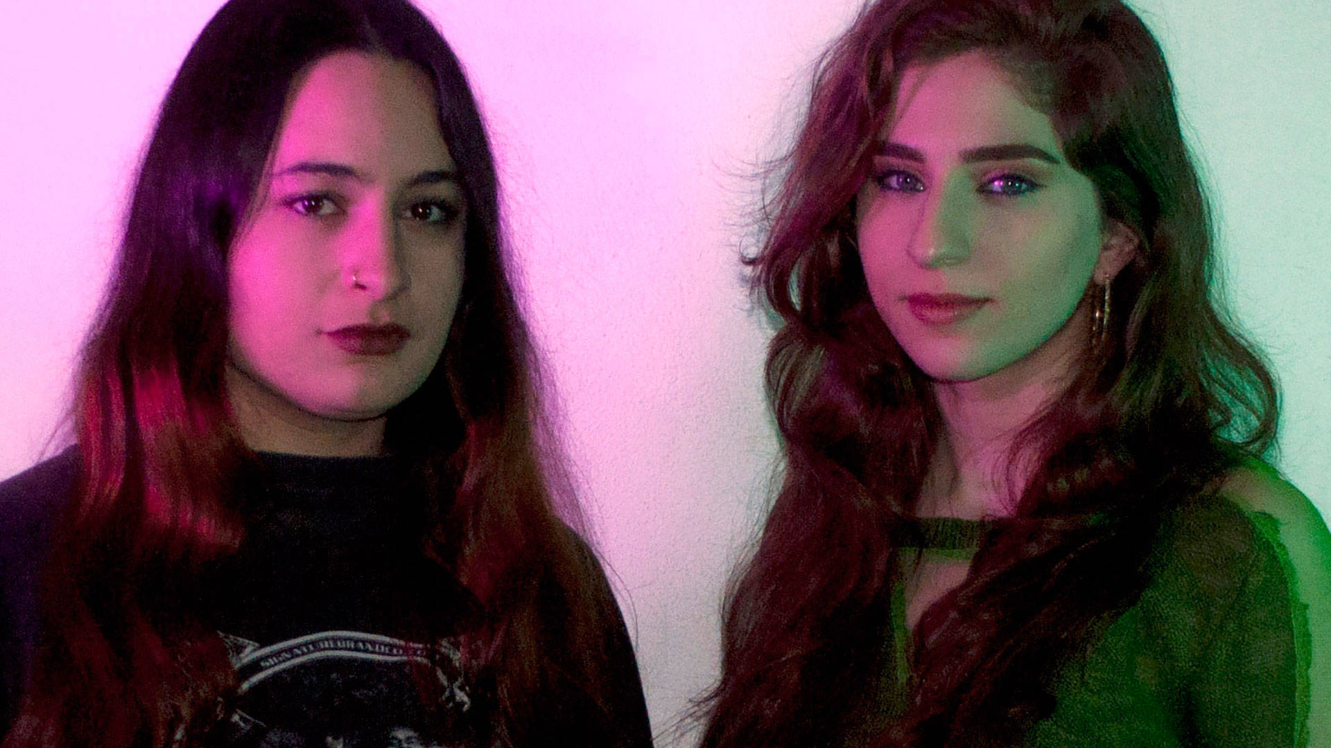 8ULENTINA and foozool, founders of Club Chai. Artist photo