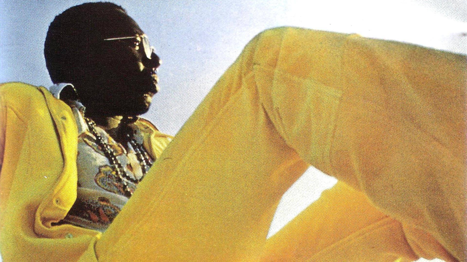 Curtis Mayfield's 1970 album, 'Curtis' (detail).