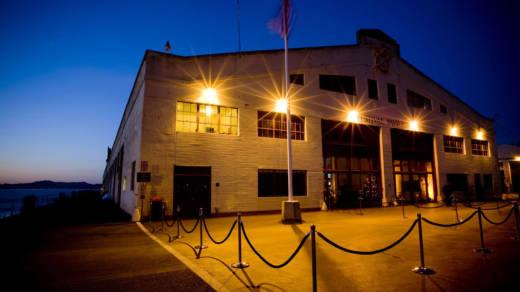Fort Mason Festival Pavilion, home to FOG Design+Art, Jan. 11-15.