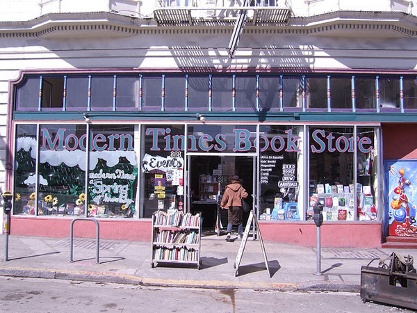 What the store looked like at its Valencia Street location, from which it relocated to 24th Street in 2011.