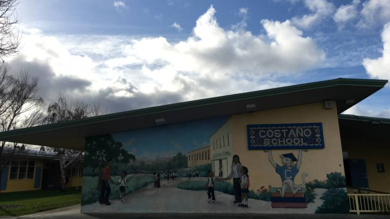 The school had the iPads. Facebook helped pay for teacher training at Costaño-49ers in the Ravenswood City School District.