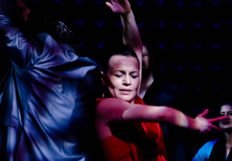 Soledad Barrio in 'Antigona.'