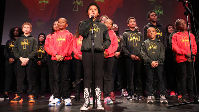Young, Gifted, and Black grabs the future at 'Bringing the Noise for Dr. Martin Luther King Jr.' at the Nourse Auditorium.
