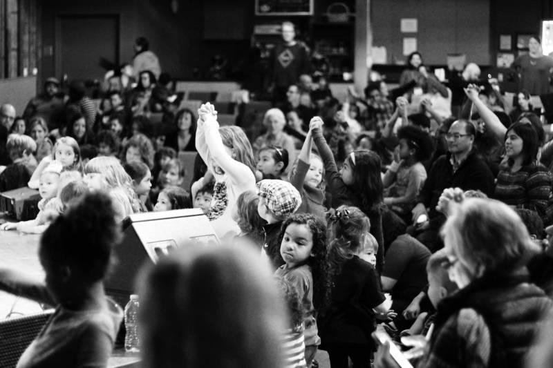 Crowd at an Alphabet Rockers show
