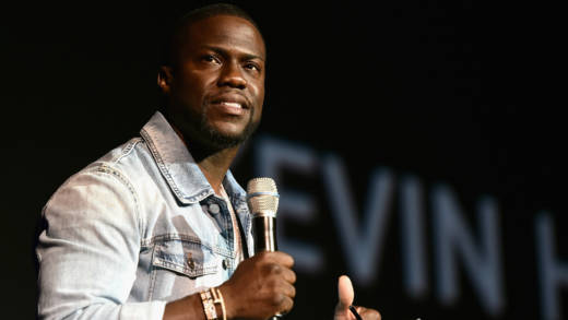 Kevin Hart speaks onstage during CinemaCon 2016