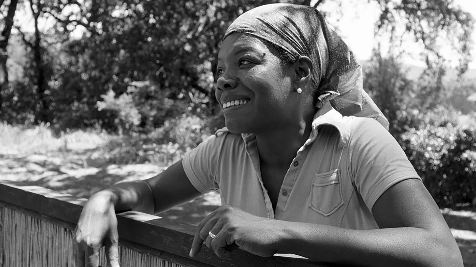 Maya Angelou Photo: Wayne Miller