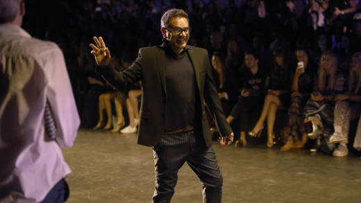 Naeem Khan attends the Naeem Khan fashion show during New York Fashion Week in 2016.