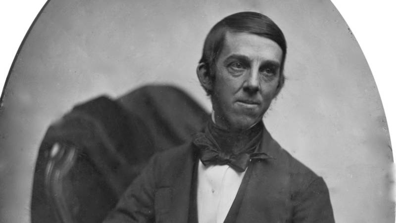 Portrait of poet Oliver Wendell Holmes Sr. in 1853. Eight years later, when the U.S. was in the grip of civil war, he would pen a fifth verse for 'The Star-Spangled Banner' which laments his country's divided state looks forward to the emancipation of enslaved people.