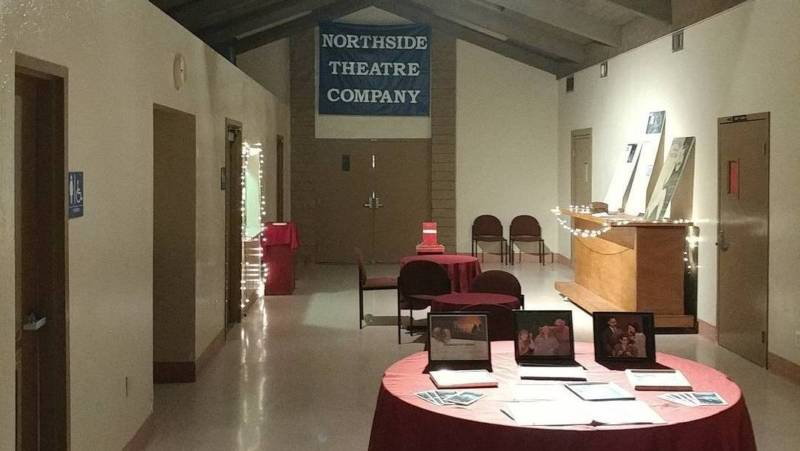 The Northside Theatre Company, less than a week before the building was flooded.