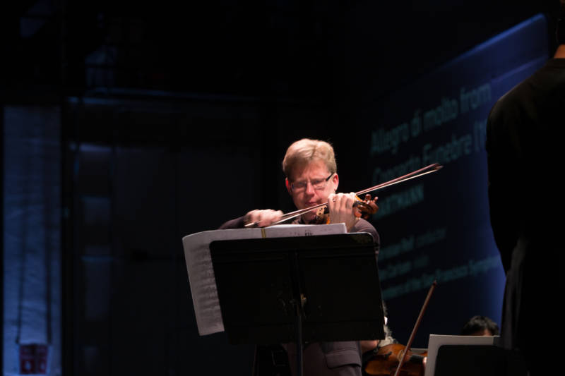 Violinist Dan Carlson
