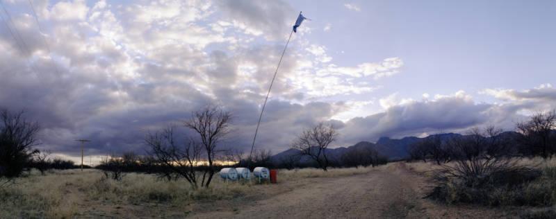 "Delilah Montoya, ""Humane Borders Water Station,"" 2004"